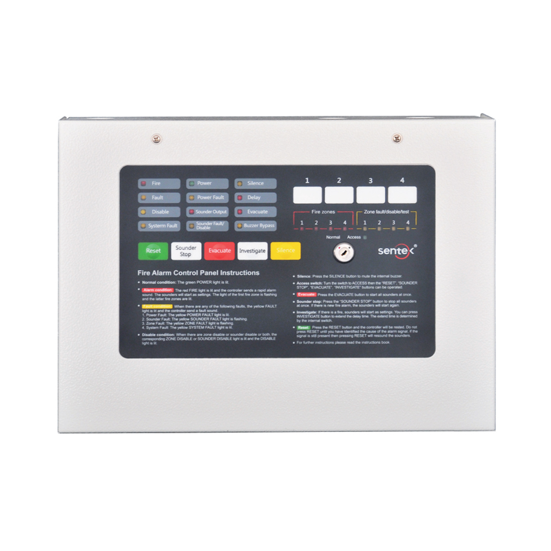 CF800X Low Price Conventional Fire Alarm System Control Panel